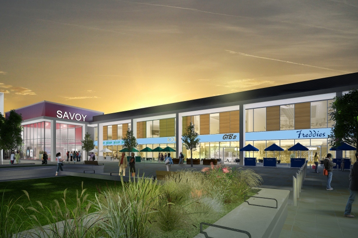 Savoy cinema evening artist impression