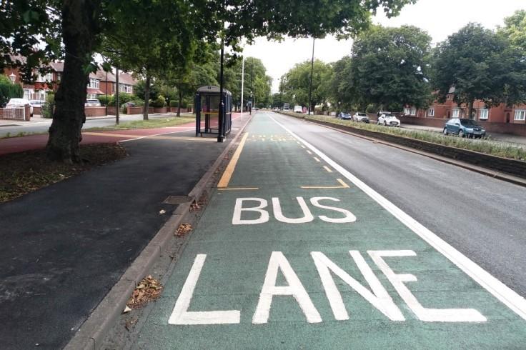 Bennetthorpe Bus Lane