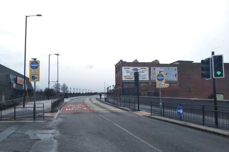 North Bridge Road Bus Lane