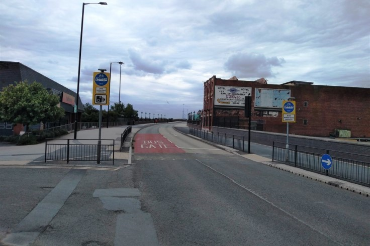 North Bridge Road Bus Gate