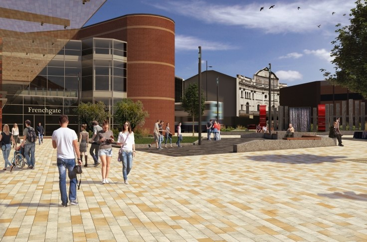 Artist impression of the train station forecourt redevelopment 3