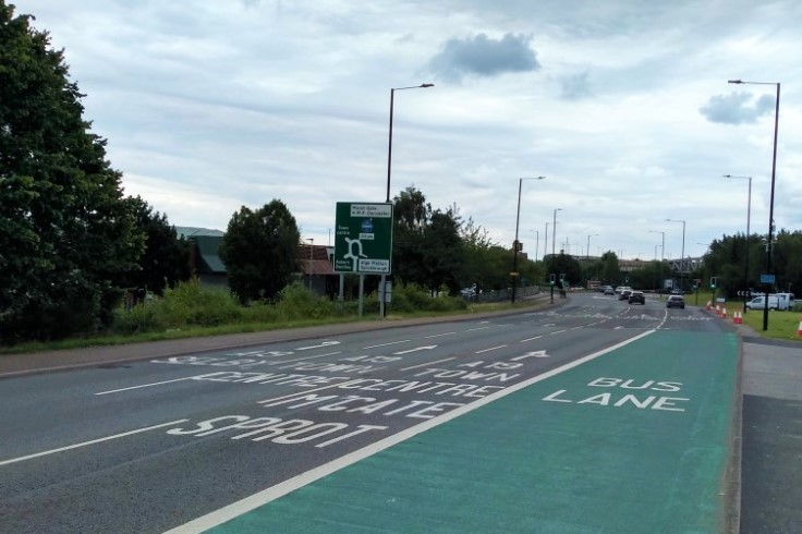 York Road Bus Lane