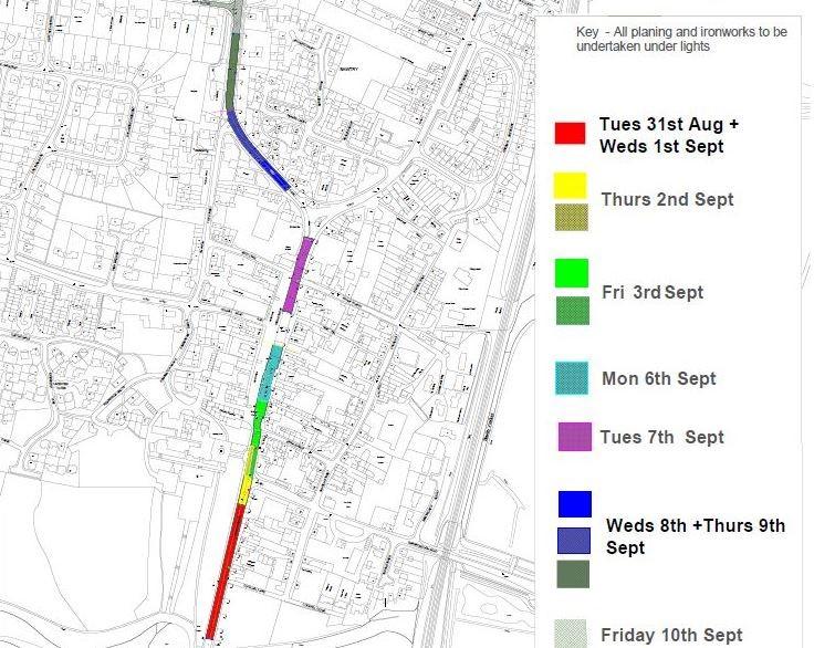 bawtry roadworks plan A