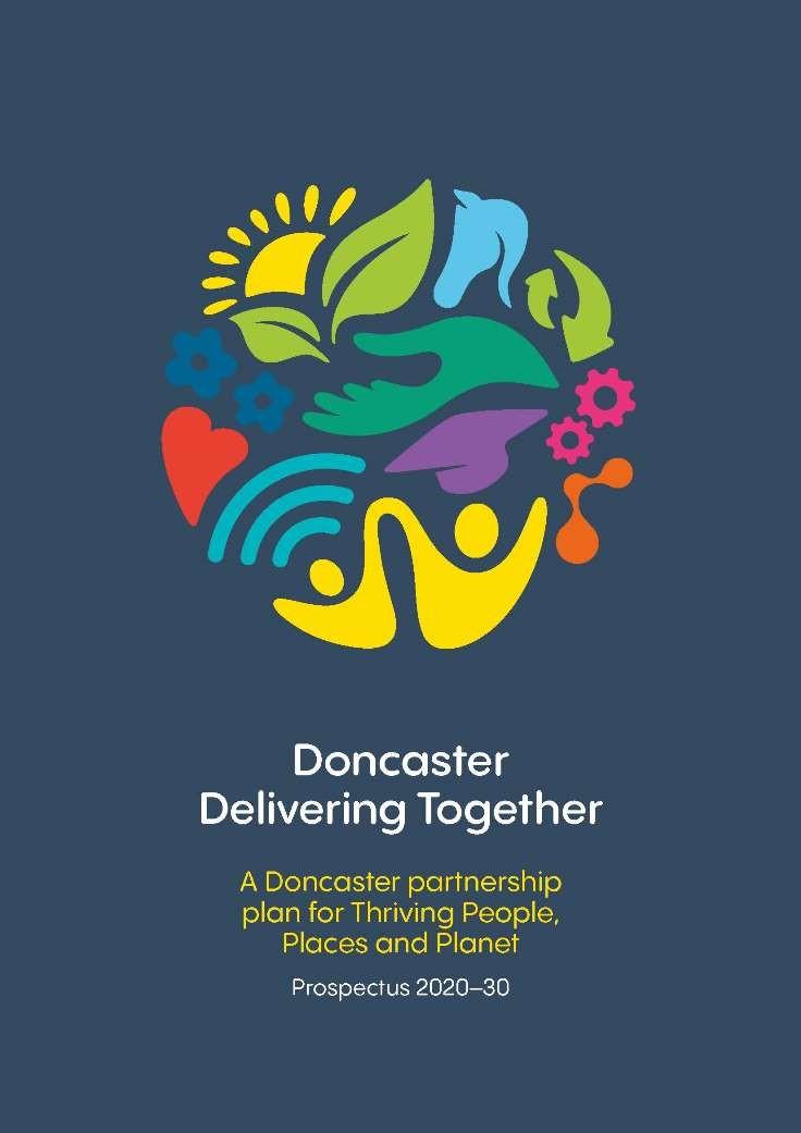 Doncaster Delivering Together Prospectus Front Cover